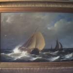 Ships in a Fresh Breeze – Hermanus Koekkoek